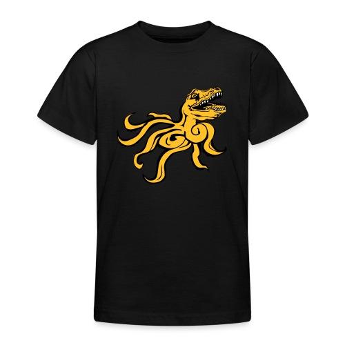Octorex Dinoface - Teenage T-Shirt