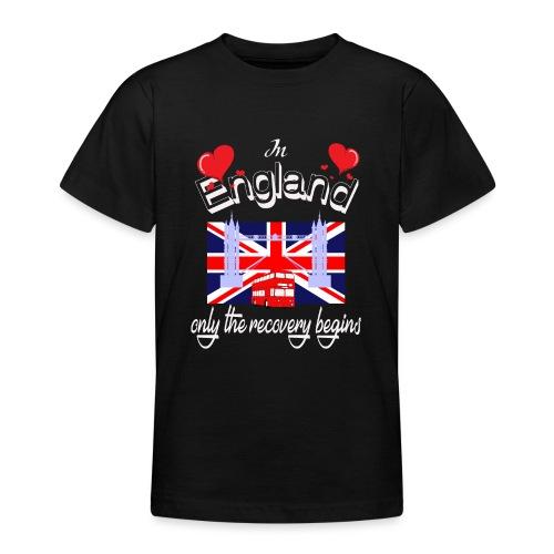 Urlaub England englisch lernen Ferien in England - Teenager T-Shirt