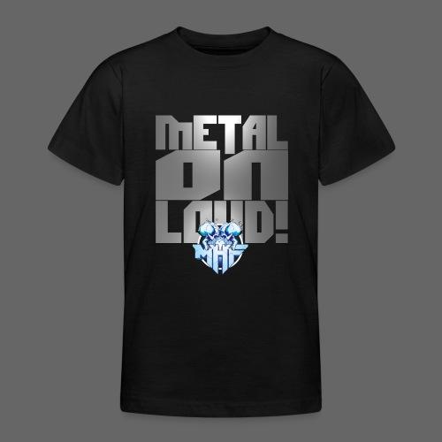 metalonloud large 4k png - Teenage T-Shirt