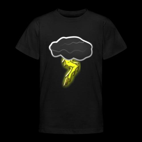 Blitzschlag - Teenager T-Shirt