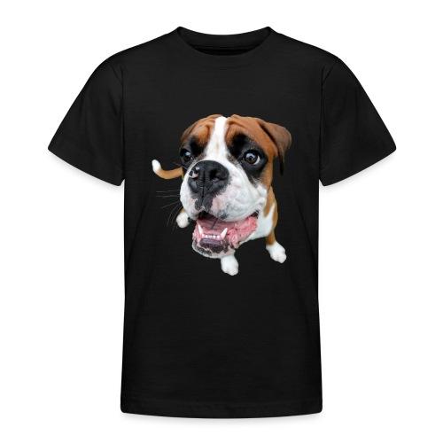 Boxer Rex dog - Teenage T-Shirt