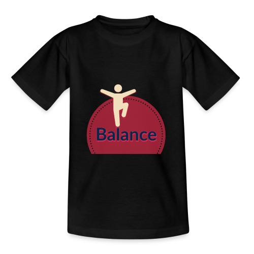 Balance red - Teenage T-Shirt