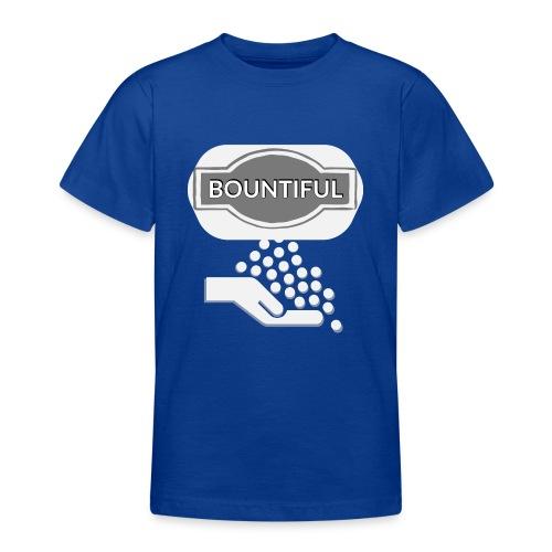 Bontiul gray white - Teenage T-Shirt