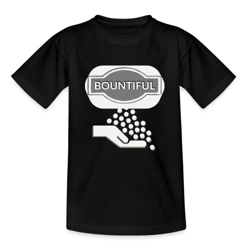 Bontiul gray white - Teenage T-Shirt