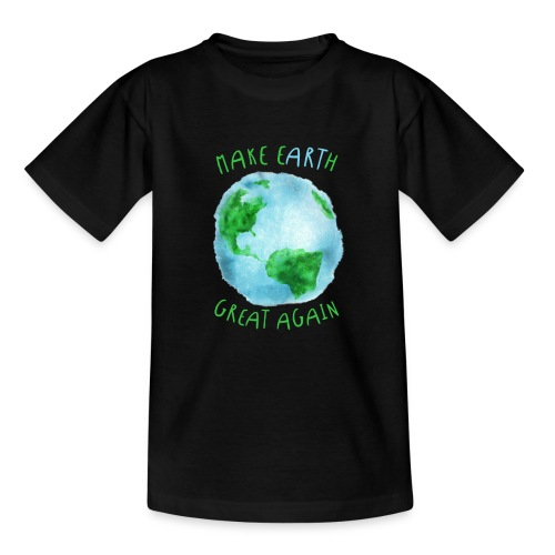 EARTH - Camiseta adolescente
