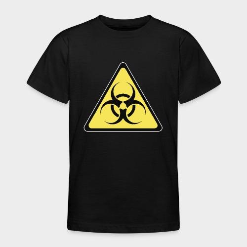 SEÑAL BIOHAZARD - Camiseta adolescente