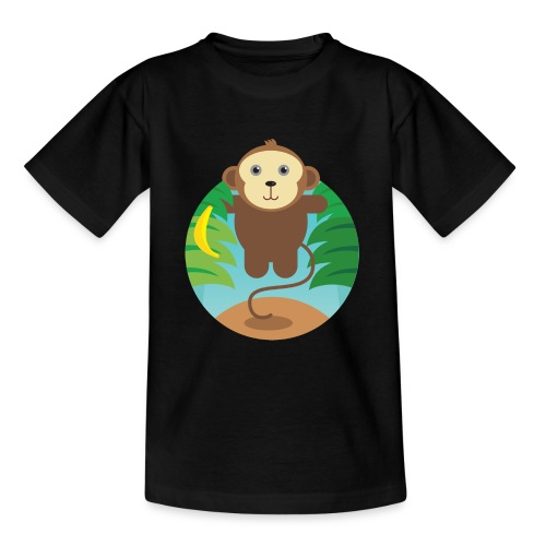 Banana Monkey - Teenager T-Shirt