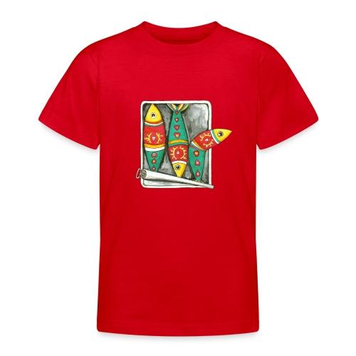Les sardines du Portugal - T-shirt Ado
