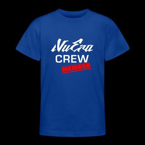 NuEra Crew Logo 2018 - Teenager T-Shirt