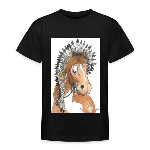 indianerpony cmyk - Teenager T-Shirt