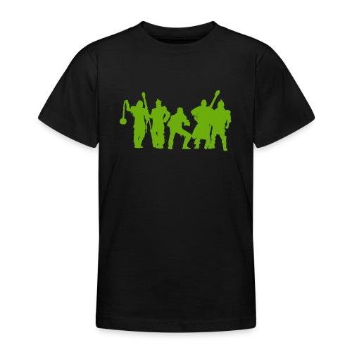 Jugger Schattenspieler gruen - Teenager T-Shirt