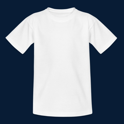 Stars and Stripes White - Teenager T-Shirt