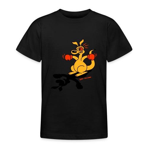 Boxing Kangaroo - Teenage T-Shirt