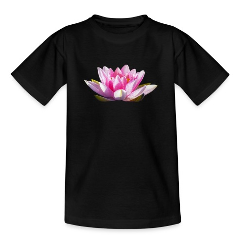 Lotos Nelumbo Teichrose Blume Wasserpflanze - Teenager T-Shirt