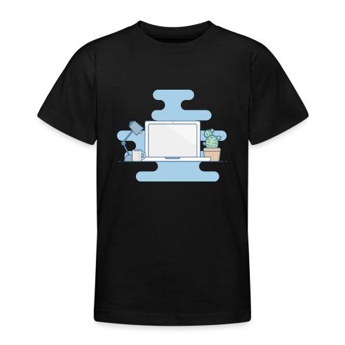 Arbeitstisch - Teenager T-Shirt