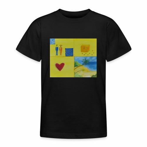 Viererwunsch - Teenager T-Shirt