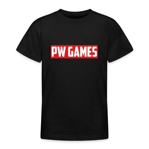 PW Games Tekst - Teenager T-shirt