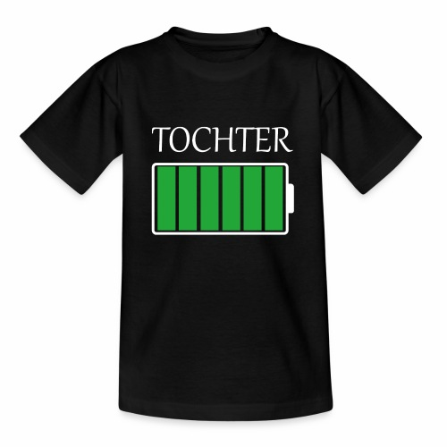 Tochter volle Energie - Teenager T-Shirt