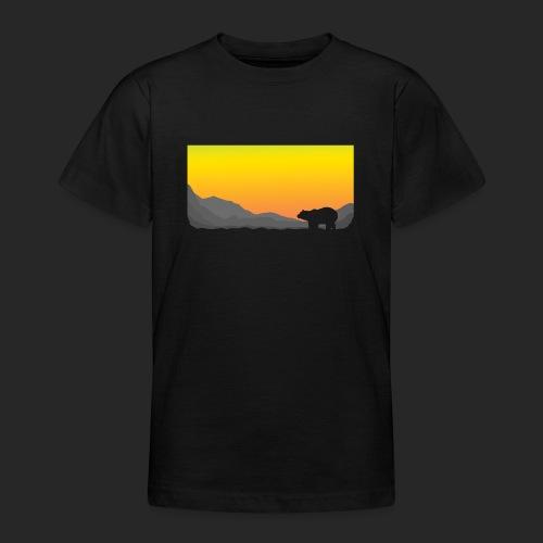 Sunrise Polar Bear - Teenage T-Shirt