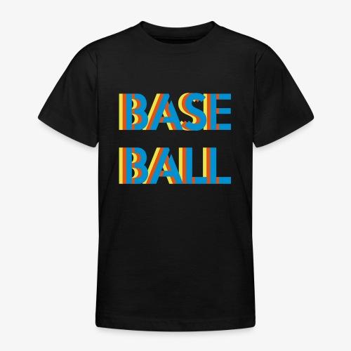 Baseball relief - T-shirt Ado