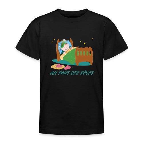 Personnage endormi - T-shirt Ado