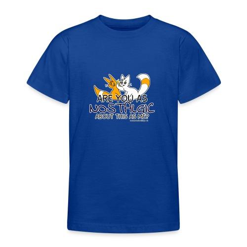 Nostalgia Hurts - Teenage T-Shirt