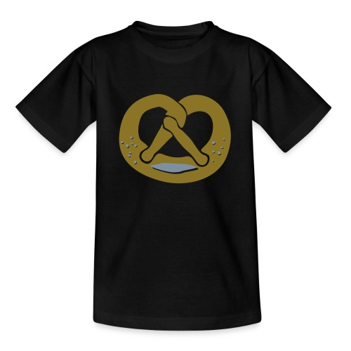 Brezel - golden - Teenager T-Shirt