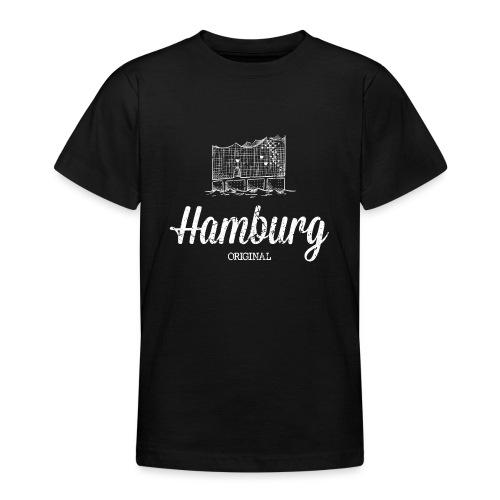 Hamburg Original Elbphilharmonie - Teenager T-Shirt