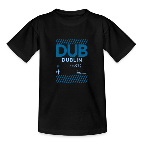 Dublin Ireland Travel - Teenage T-Shirt