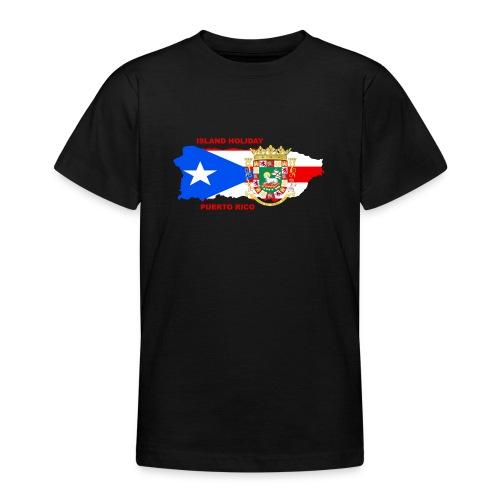 Puerto Rico Island Holiday - Teenager T-Shirt