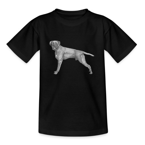 boxer - ink - Teenager-T-shirt