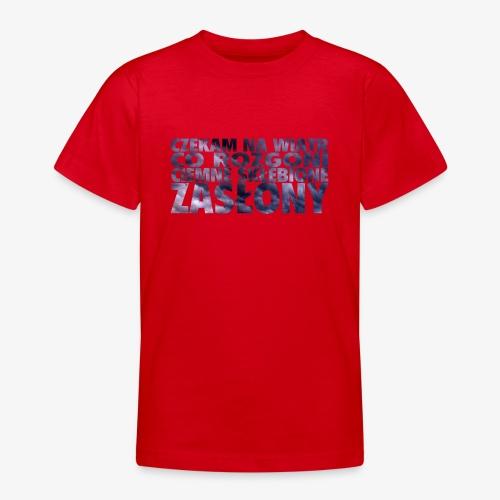 Czekam na wiatr - Koszulka młodzieżowa