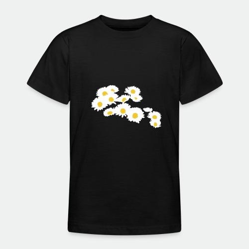 Spring Season Daisies - Teenage T-Shirt