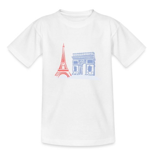 Paris - T-shirt Ado
