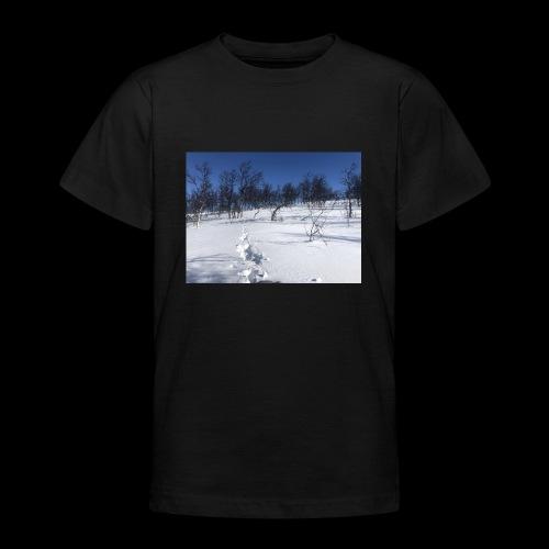 Fin natur - T-skjorte for tenåringer