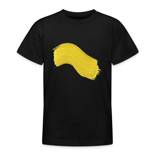 Yellow paint - T-skjorte for tenåringer