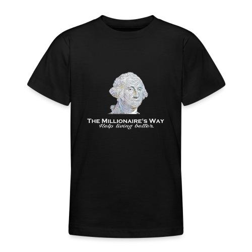 Il nostro logo in bianco - Maglietta per ragazzi