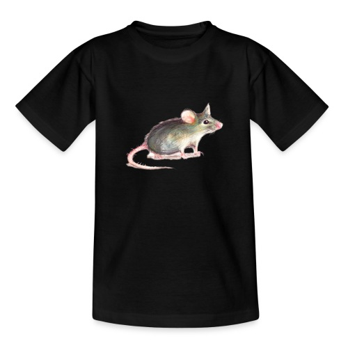 Kleine graue Maus - Teenager T-Shirt
