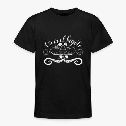 Handlettering Bigote Grande W - Teenager T-shirt