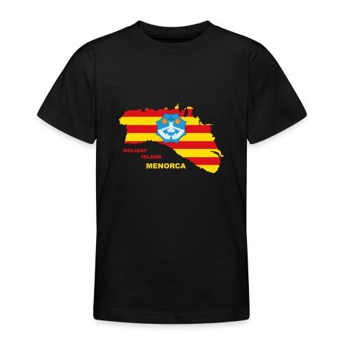 Menorca Urlaub Insel Spanien Balearen - Teenager T-Shirt