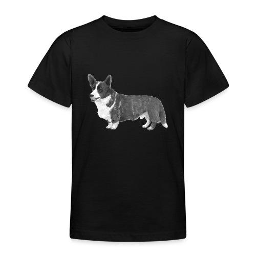 welsh Corgi Cardigan - Teenager-T-shirt