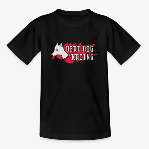 Dead dog racing logo - Teenage T-Shirt