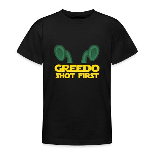 GreedoShotFirst 02 - Teenager T-shirt
