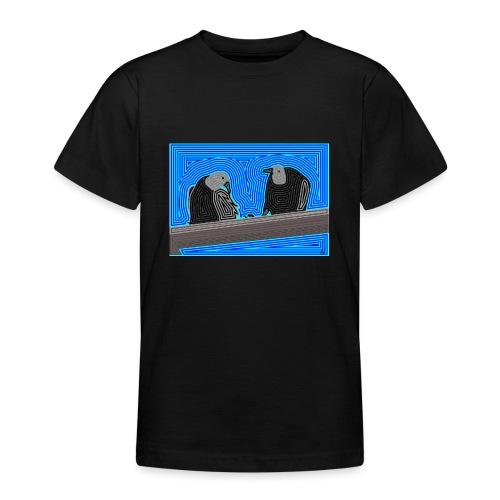 Aves en lineas - Camiseta adolescente