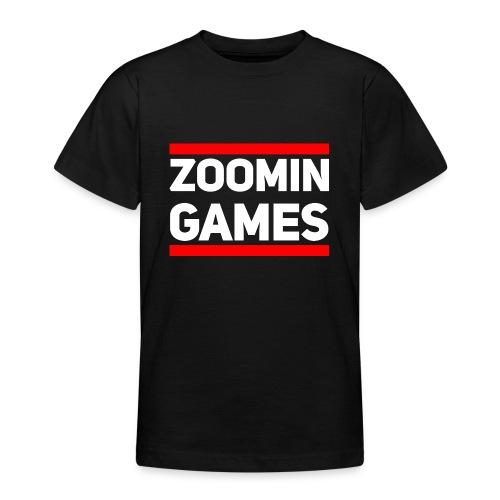 9815 2CRun ZG White - Teenage T-Shirt