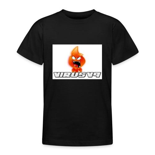 Virusv9 Weiss - Teenager T-Shirt