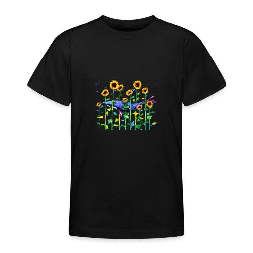 wandering whale - Teenage T-Shirt