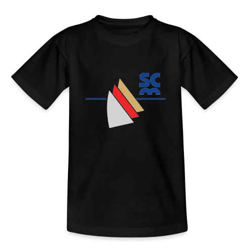 Modernes SCM Logo - Teenager T-Shirt