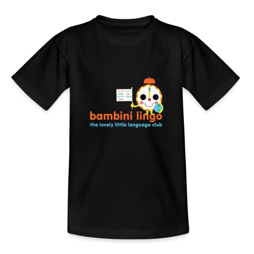 bambini lingo - the lovely little language club - Teenage T-Shirt