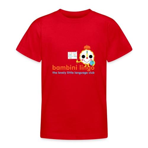 bambini lingo - the lovely little language club - Teenage T-Shirt